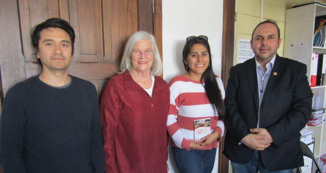 Presidenta de Semanas Musicales agradece a Radio Musicoop de Osorno.