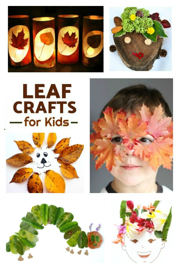 50+ super fun ways to use Fall leaves! (FALL LEAF CRAFTS) #fallleafcrafts #fallcrafts #thingstodowithleaves #fallcraftsforkidspreschool