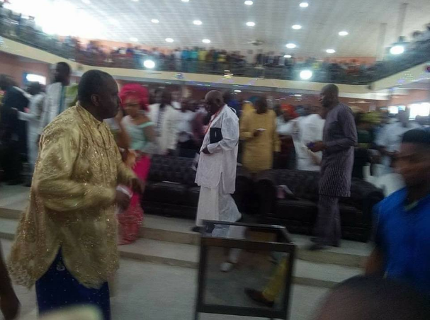 Photos from James Ibori's thanksgiving service in Delta state