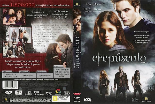 Capa DVD Crepúsculo