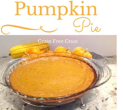pumpkin pie gluten free at http://www.glutenfreematters.com