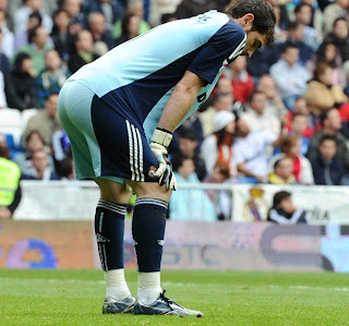 Casillas upset on the field