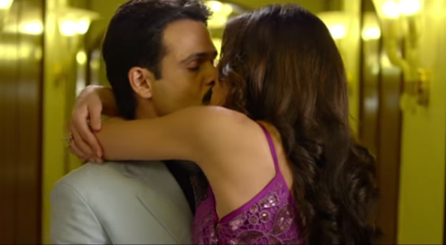 Emraan Hashmi and Nargis Fakhri from the movie Azhar.