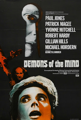 Poster Demons of the Mind (1972)
