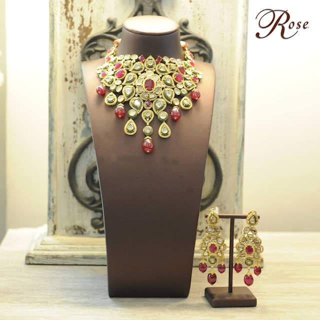 Kundan Jadau Chokers by Rose