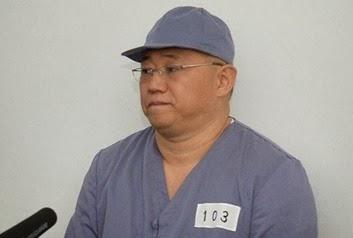 Kenneth Bae preso en Corea del Norte