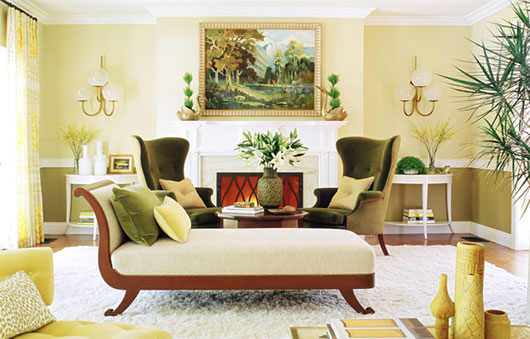 diseo interior artstico de casa con una vivida combinacin de colores with casas diseo interior