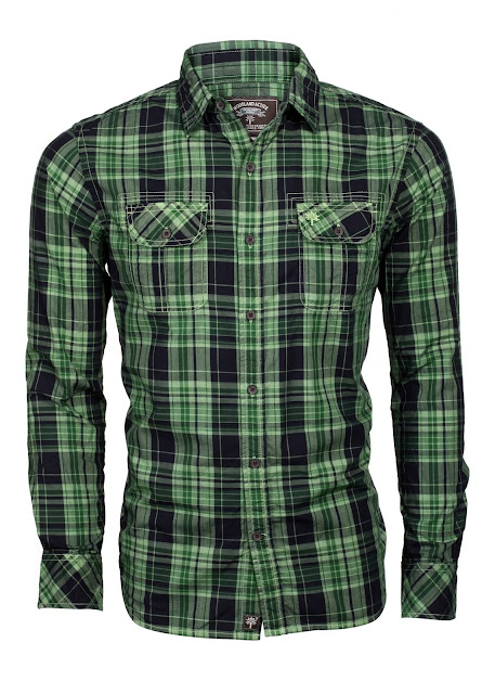 Men Check Shirt from Woodland