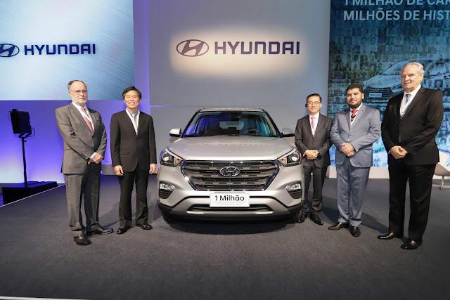 Hyundai HB20 e Creta 1 Million começam a ser vendidos