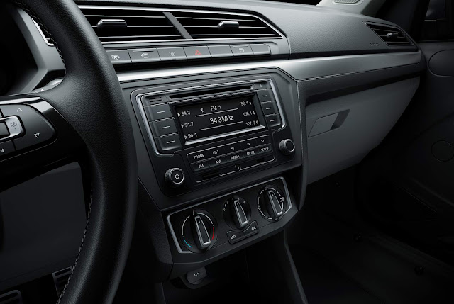 Novo Volkswagen Gol 2017 1.0 Interior