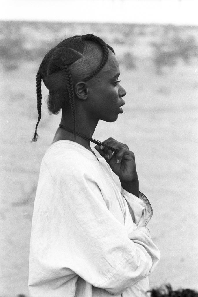 Nigerian Fulani hair style