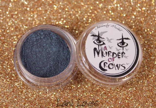 Notoriously Morbid Degrees of Death & Virtue Eyeshadow Swatches & Review