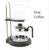 Drip Coffee, alat penyeduh kopi manual