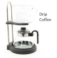 Drip Coffee, alat penyeduh kopi manual