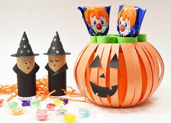 DecoAndCraftscom DIY Manualidades para Halloween Dia de Muertos