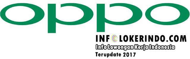 Lowongan Kerja OPPO Kota Medan 2017