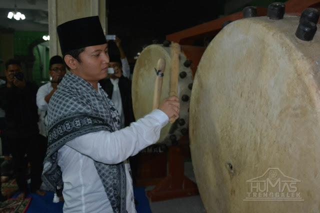 Sambut Hari Kemenangan, Pemkab Trenggalek Gelar Gema Takbir di Masjid Agung