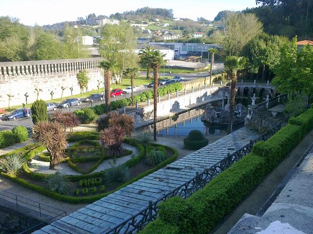 Parque del Pasatiempo en Betanzos