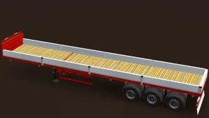 Iranian Flatbed trailer