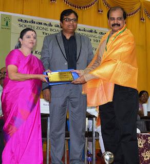 Kalam Award for Equivalency Education Program. 2016-17. Citation Bharthi Balan Dr. S. Balasubramanian,Professor & Head,TNOU