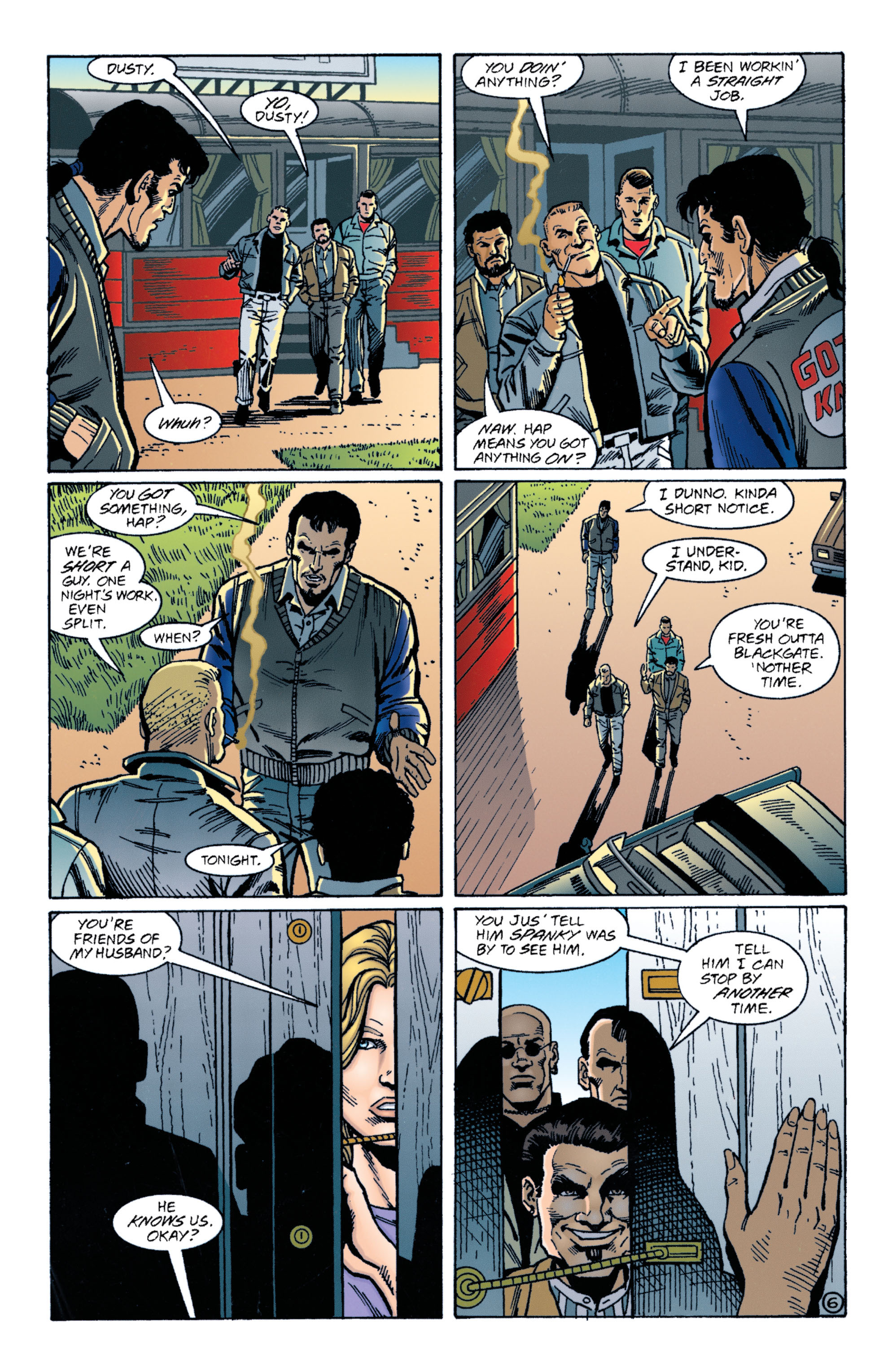 Detective Comics (1937) 716 Page 6
