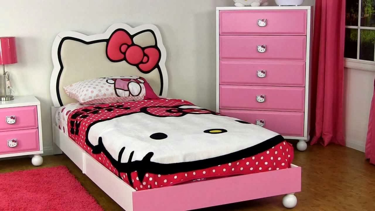 20 Desain Kamar Tidur Bernuansa Hello Kitty Berbagi Sejuta Info