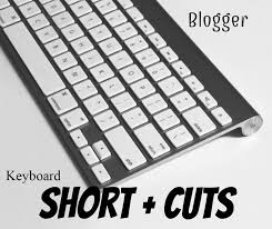 blogger_keyboard_shortcust