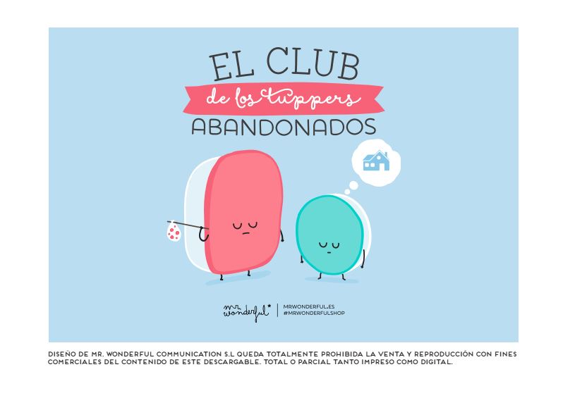 Descargable Mr Wonderful El club de los tuppers abandonados
