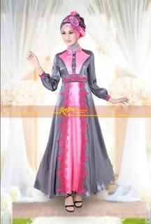 Ide busana muslim pesta elegan dan modis