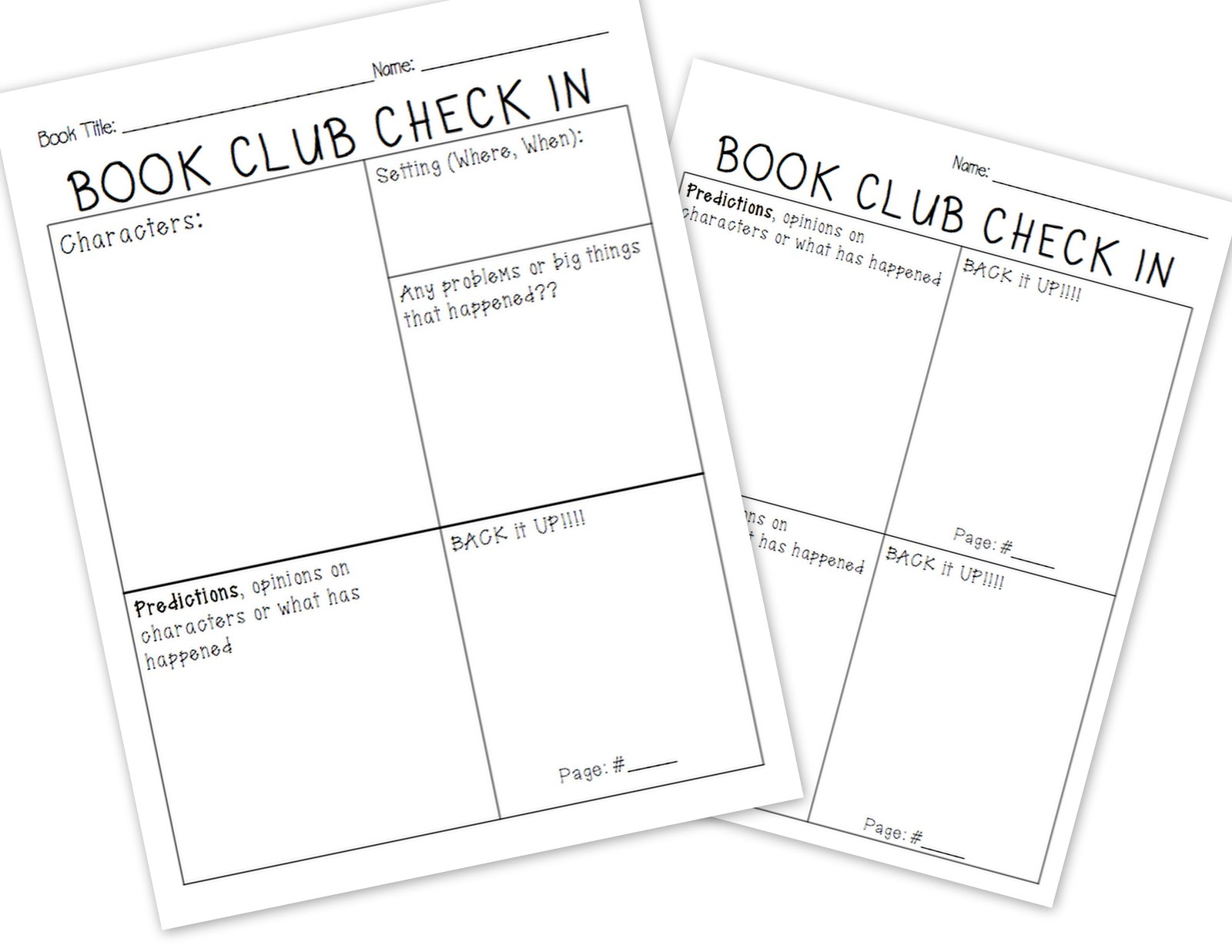 Plain and Simple Primary: Book Clubs and Partner Reading Tools