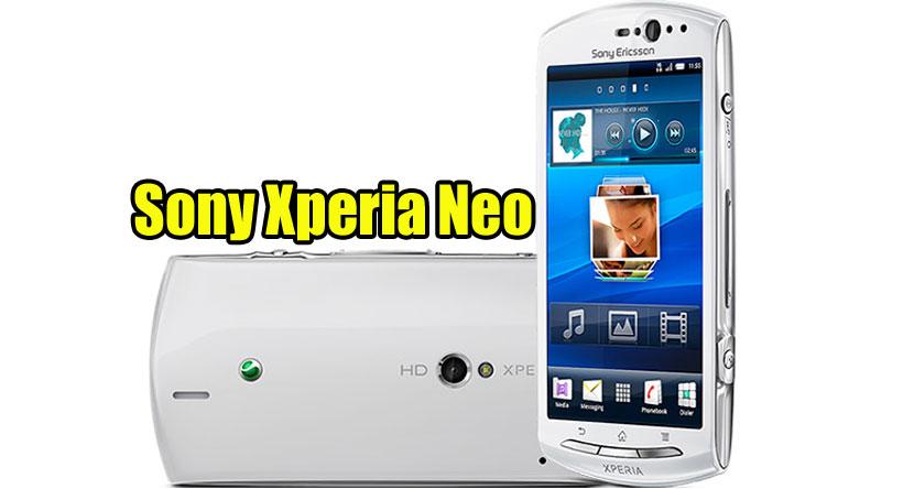 Sony Xperia Neo MT15i Flash File