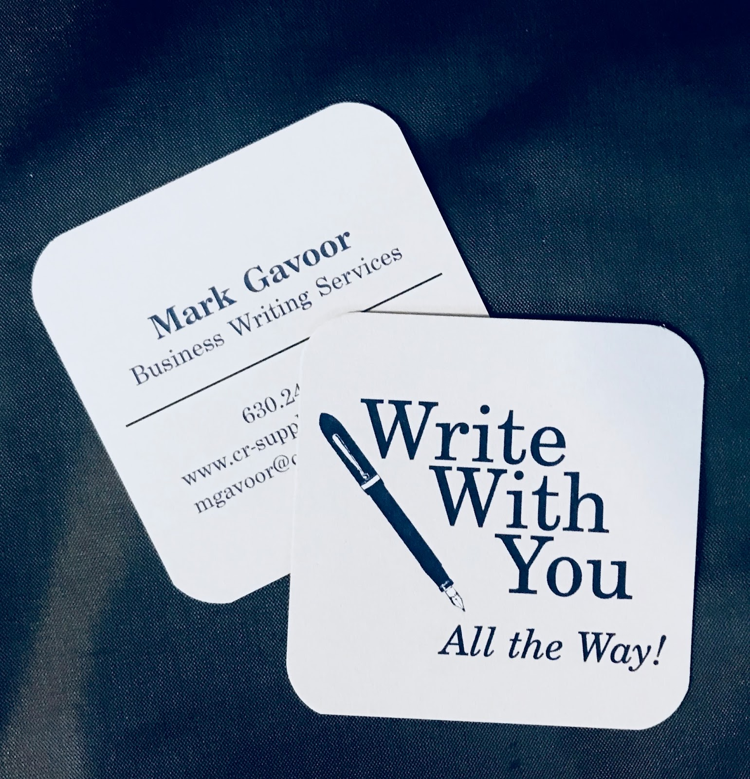 This Side of Fifty: Business Cards