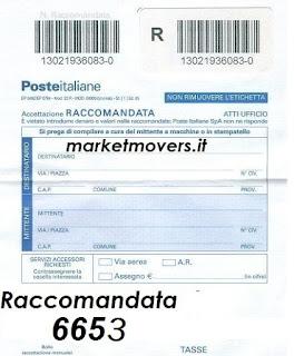 Raccomandata market 6653