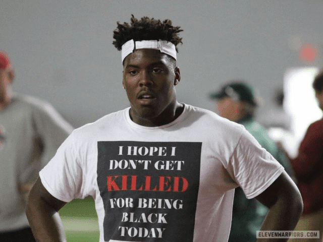 Ohio State Football Recruit Tyreke Smith Wears T-Shirt: 'I Hope I Don't Get Killed for Being Black Today'  PYGOD.COM