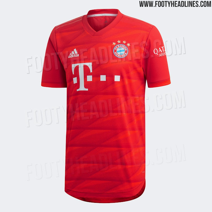 official photos ce02d b16e9 Bayern Munich 19-20 Home Kit Released - Footy Headlines