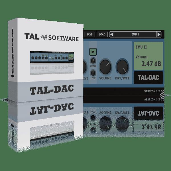 TAL-Dac v1.6.2 Full version