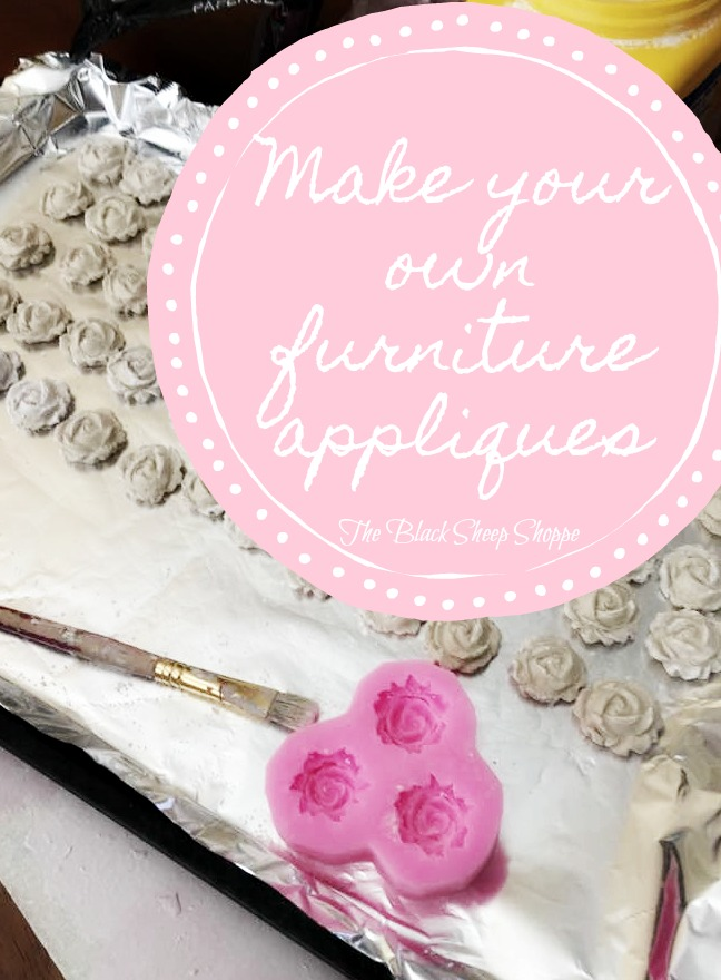 How to make your own furniture appliques.