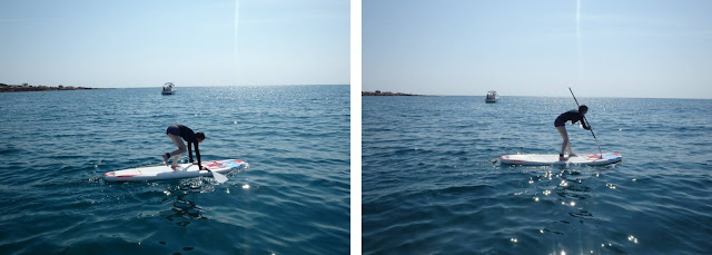 Learning Stand Up Paddling with Sun Sea Adventures