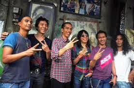 "Chord Gitar Lagu-  Slank CS- Salam 2 Jari Calon Presiden Jokowi..""Jk"""