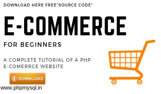 PHP ecommerce Website Full turorial Source Code » Php MySQL