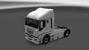 Slavijatrans Skin for Iveco Stralis