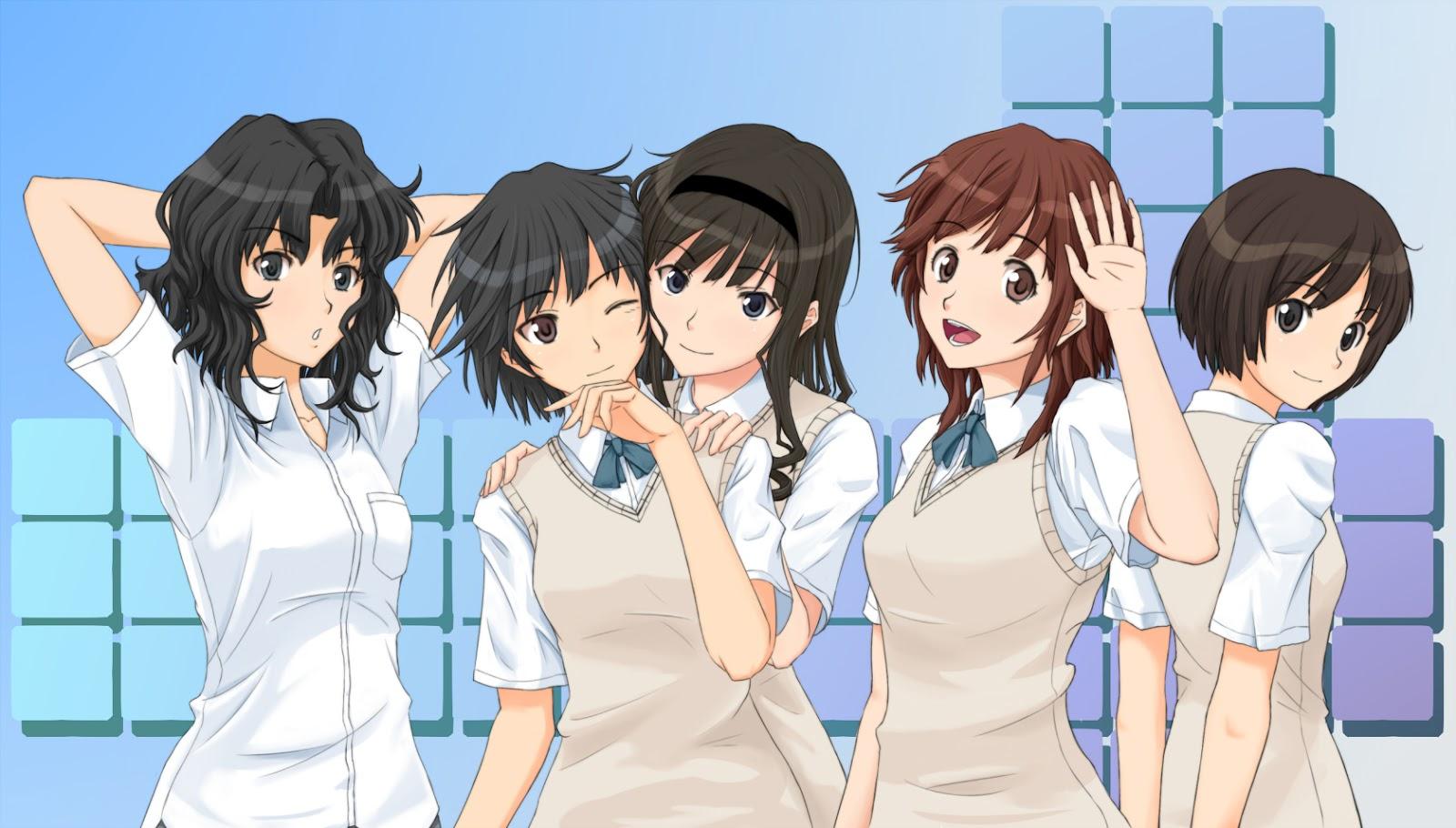 Amagami SS+ Plus BD Subtitle Indonesia