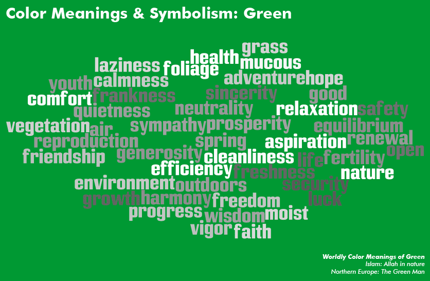 [Color Meanings \u0026 Symbolism: Green