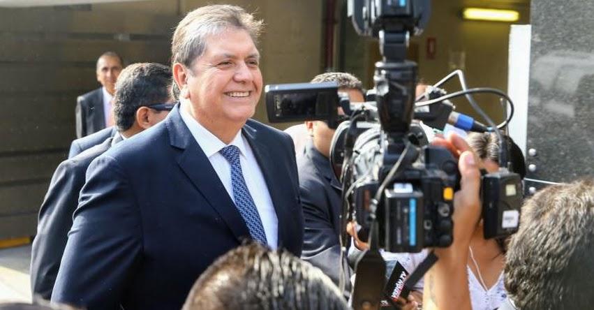 ALAN GARCÍA: Expresidente será interrogado el 15 noviembre por fiscal Domingo Pérez
