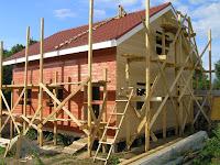 Каркасные дома этапы строительства фото