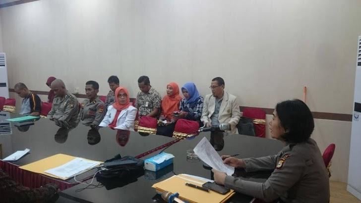 Biddokkes Polda Sulsel Gelar Rapat Bersama Untuk Siapkan Ujian CPNS Polri