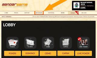 Cara Withdraw di Situs Judi Live Poker Online BandarGame.net