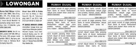 √ Iklan Baris: Pengertian dan 3 Contoh Iklan Baris di Koran