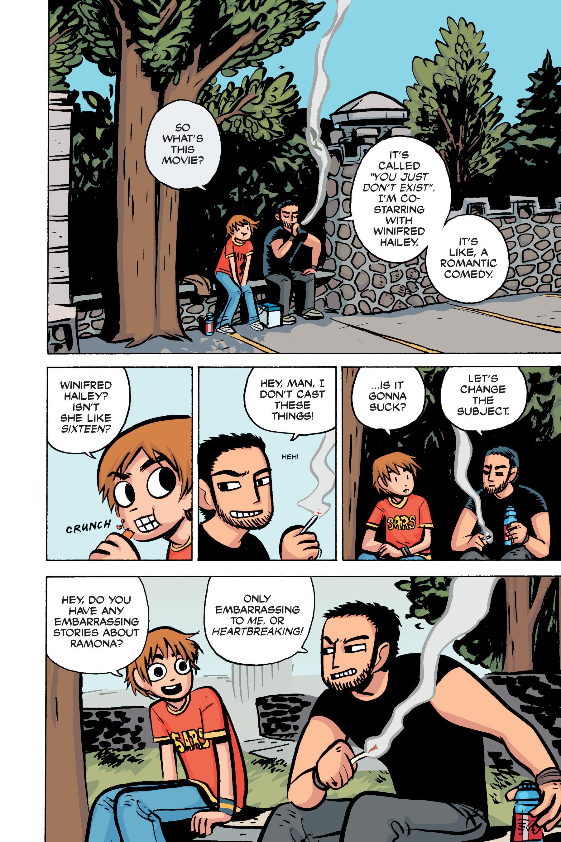 Read online Scott Pilgrim comic -  Issue #2 - 113