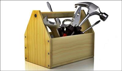 caixa ferramentas madeira